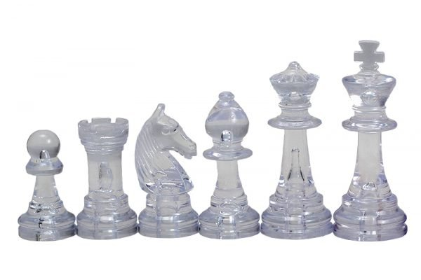 staunton chess pieces transparant