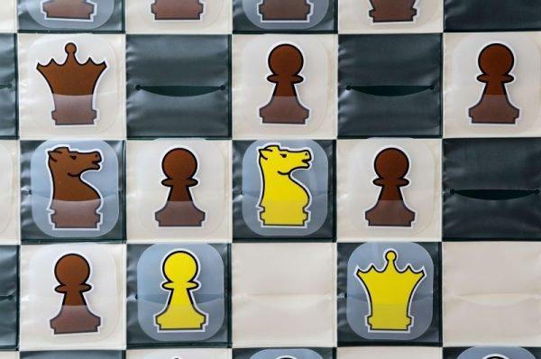demonstration chess board