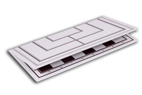 folding chess board plastic