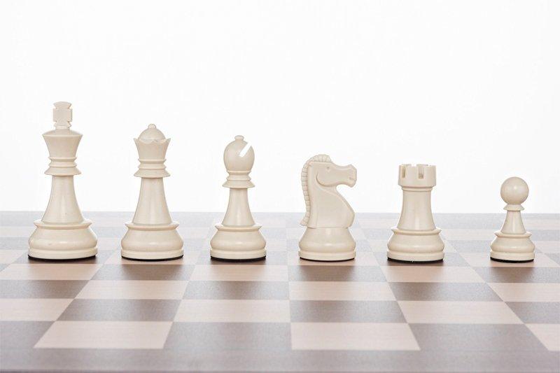 Jigchess Schachspiel Zagreb 50 cm