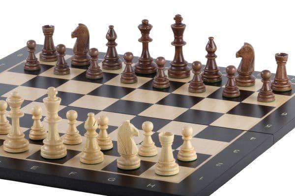 black chess board folding