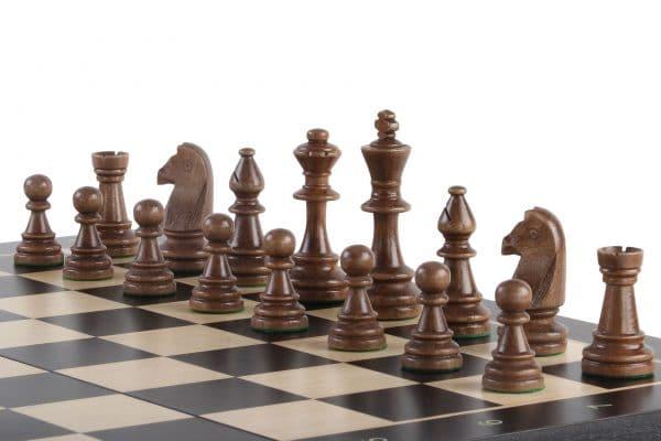 folding black chess board