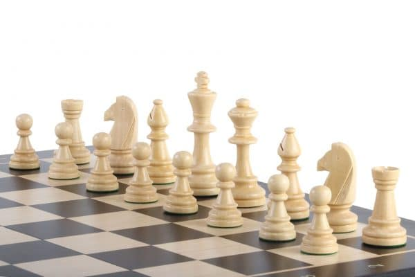 sapele black folding chess board