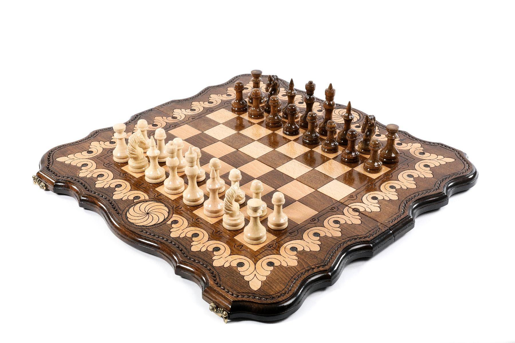 Schachspiel Backgammon