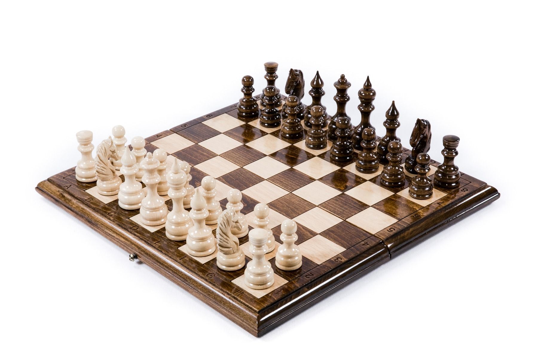 Backgammon Buchenholz i