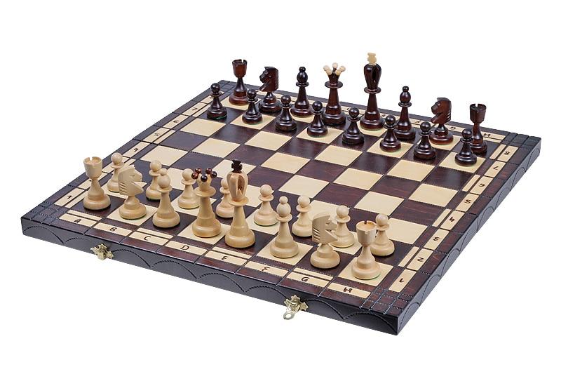 Dame und Schach